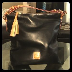 Dooney & Bourke Smooth Leather Shoulder Bag